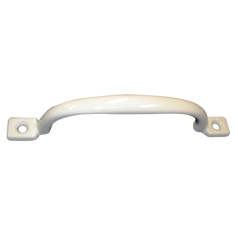 White Metal Grab Handle (150mm)