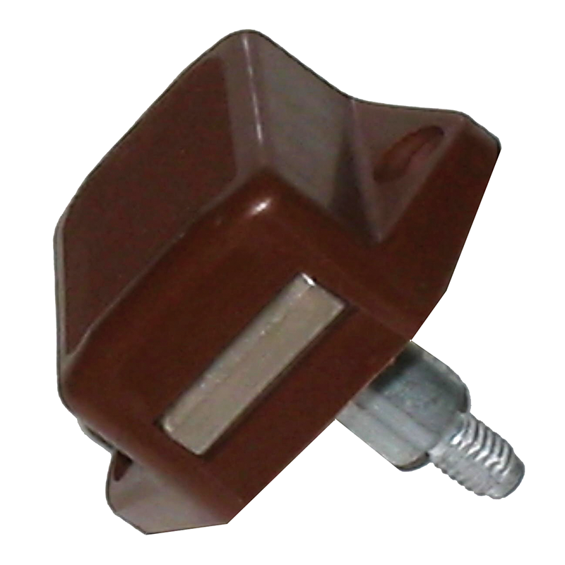 Push Button Catch Brown