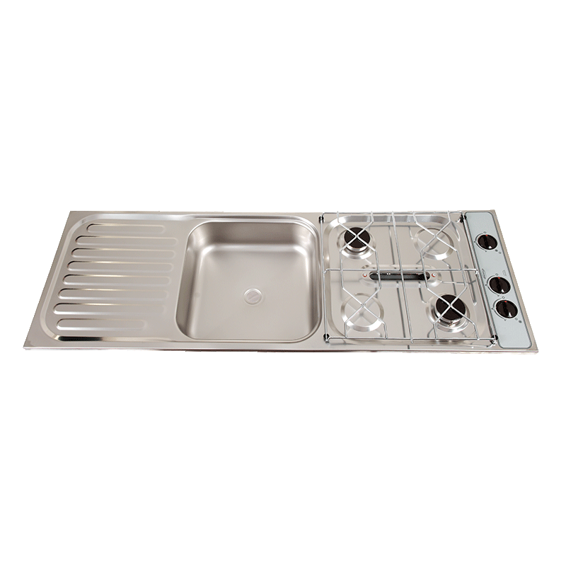 Thetford Combination Units – 2 Burner, Grill and Sink