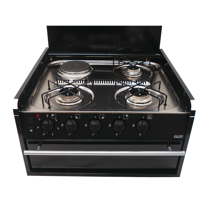 Smev 402 Stainless Steel Cooktop