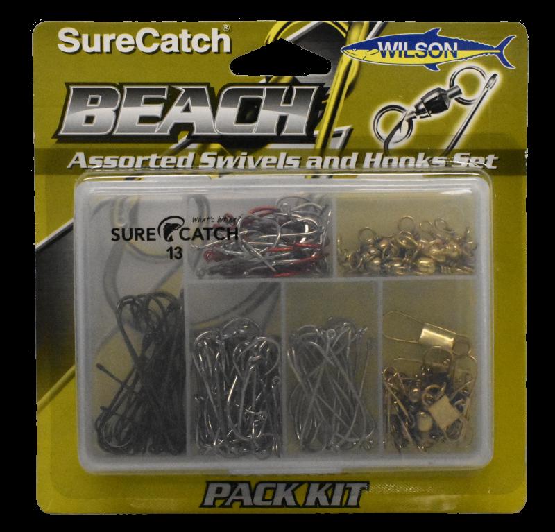 Sure Catch Hook & Swivel Beach Pack