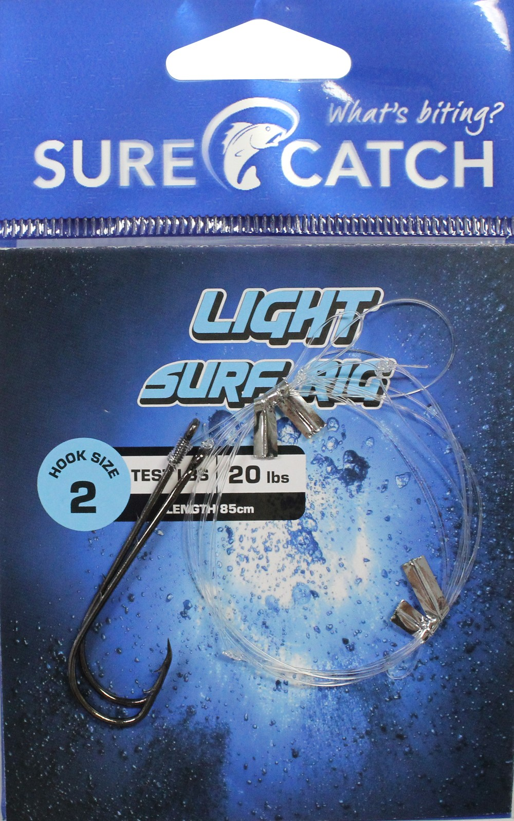 Sure Catch Light Surf Rig - Size 2