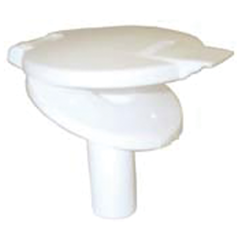 AC41 Water Filler With hinged Lid (White)