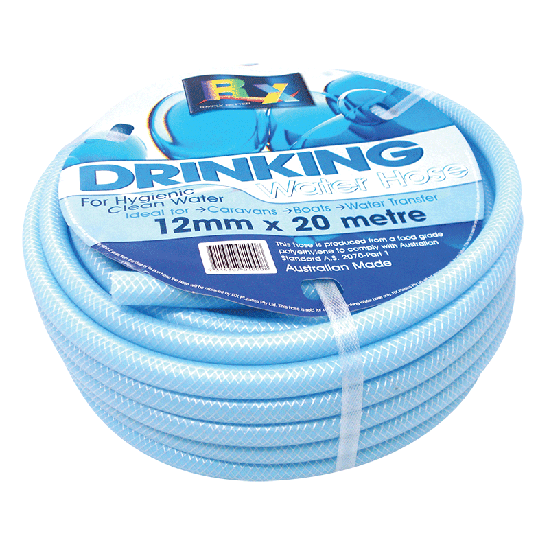 Non-Toxic Reinforced Drinking Water Hose 20 MTR Roll
