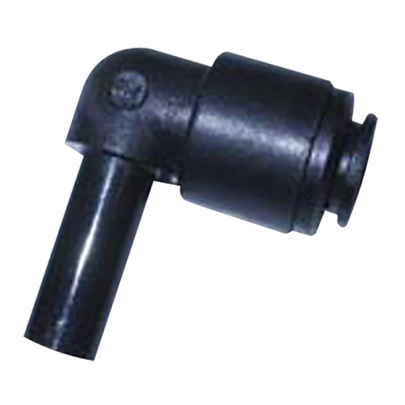 John Guest Plastic Stem Elbow 12mm Connector