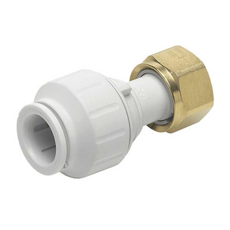 JG Watermark 12mm Straight Tap Connector