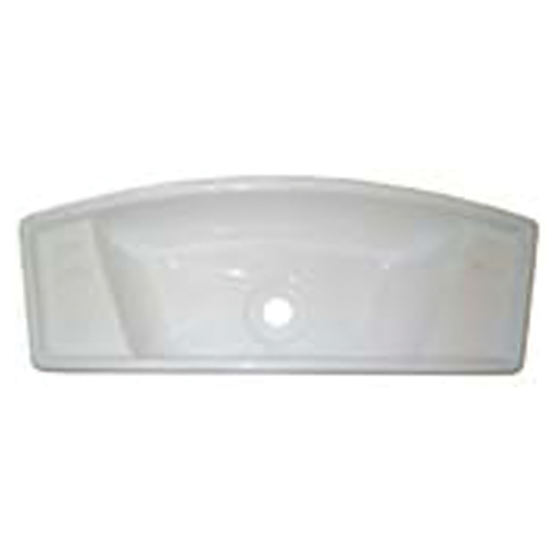White Acrylic Oblong Hand Basin