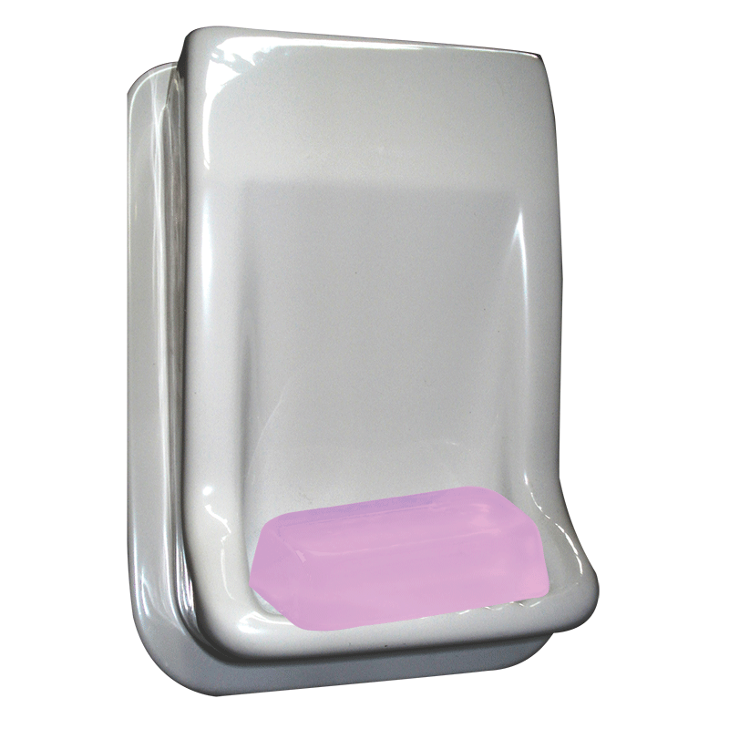 Acrylic Soap Holder (white)