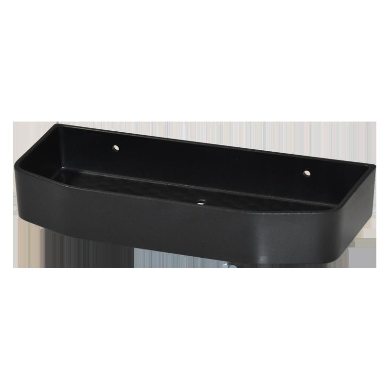 COAST Bathroom SML Commodity Basket BLACK - 250x112x40mm (LxDxH)