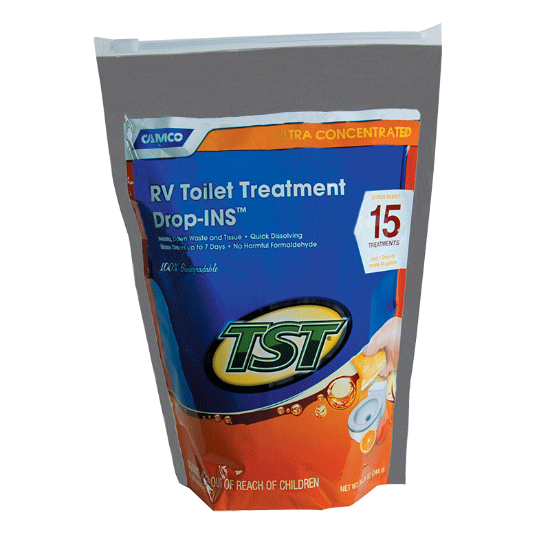TST Orange Concentrated Toilet Drop Ins