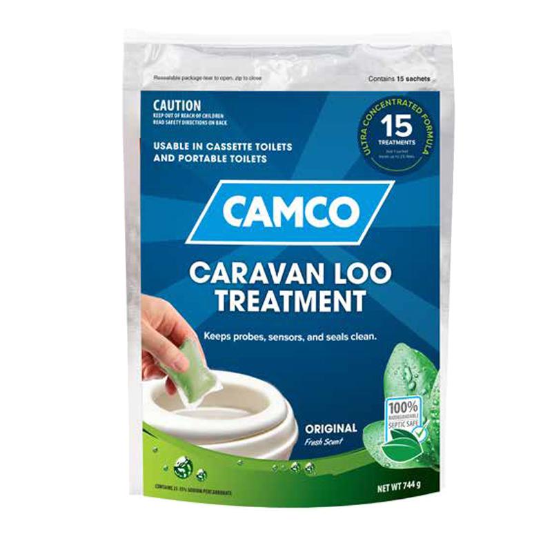 Camco Caravan Loo Treatment Fresh Scent - 15 Drop-Ins