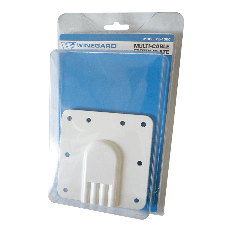 Winegard 4 Cable Entry Plate