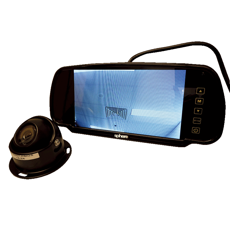 Motorhome Reversing Camera Kit (with black camera)