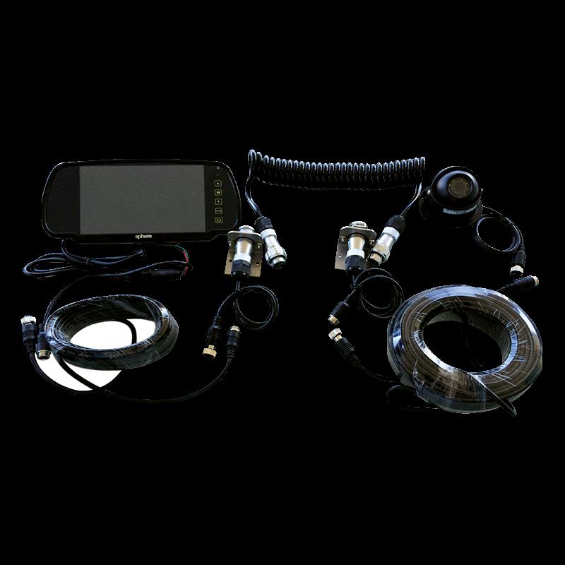 Caravan Reversing Camera Kit (black)