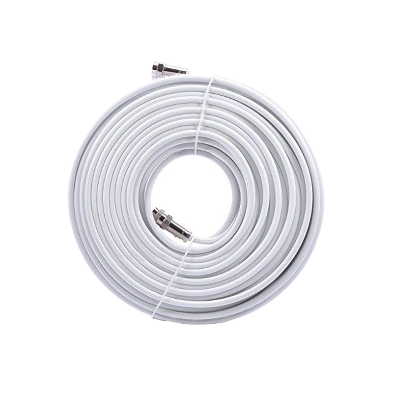 Sphere 1.5m RG6 Quad Shield Coax with Compression Fittings