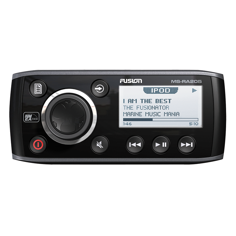 Fusion 200 Series Head Unit AM/FM/VHF with iPod/USB (MS-RA205