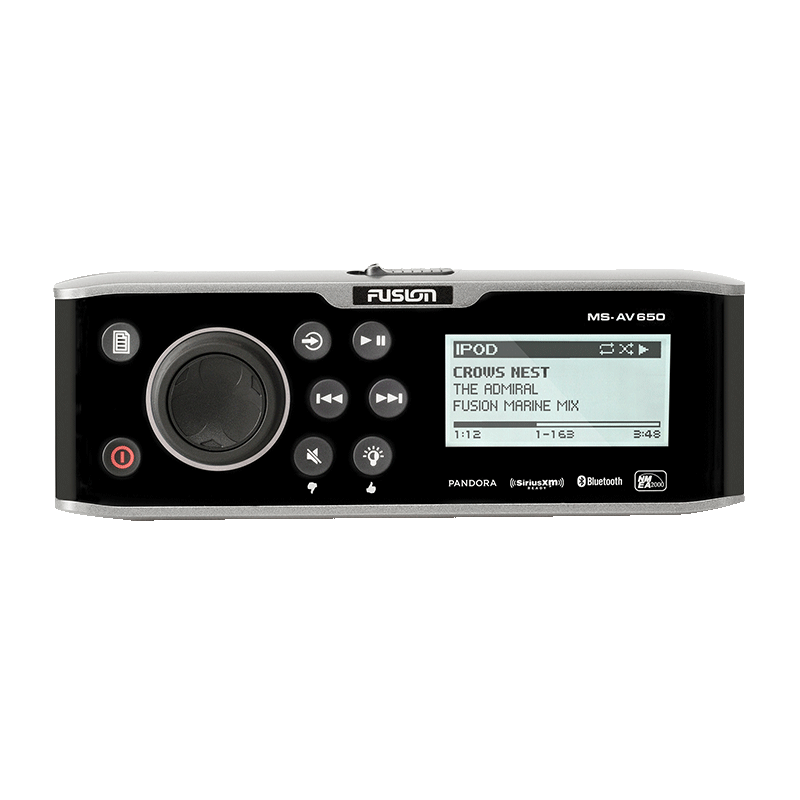 Fusion 650 Series Head Unit AM/FM (MS-AV650)
