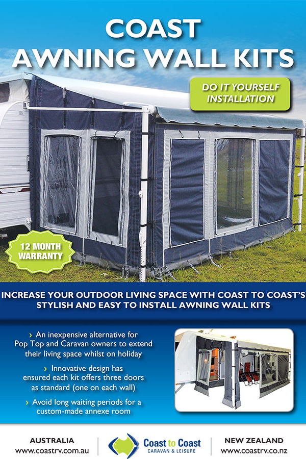 COAST AWNING WALL KITS