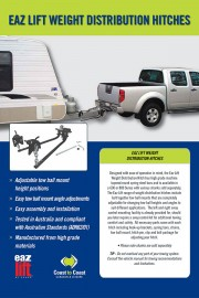 EAZ LIFT WEIGHT DISTRIBUTION HITCHES