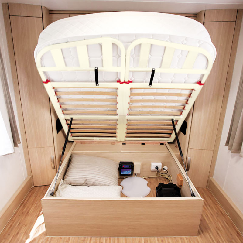 Caravan Bed Frame Aluminium Prince Split Head