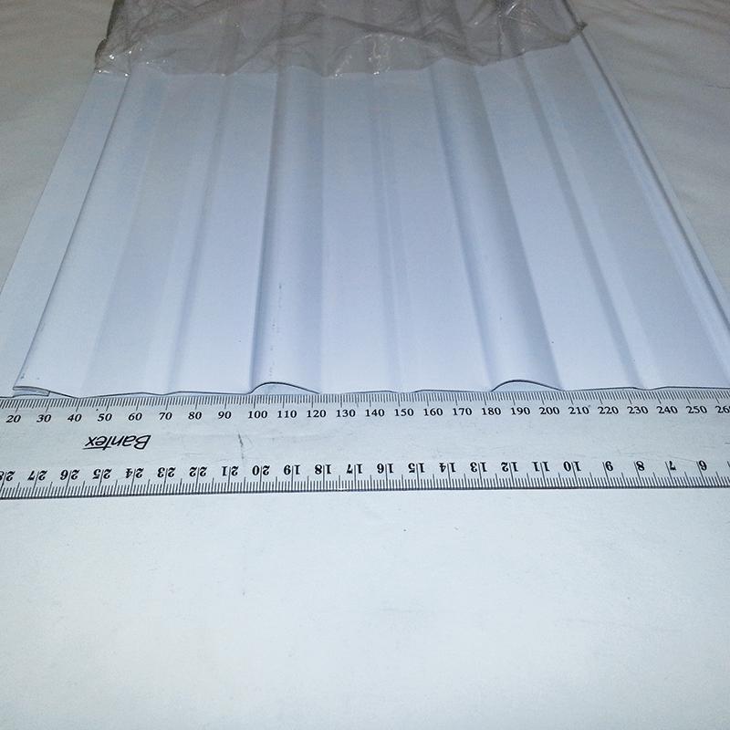 Aluminium Side Cladding (6.1m x 0.315) CP10 Deep Violetone White