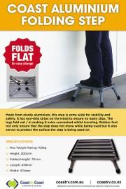 Coast Aluminium Folding Step