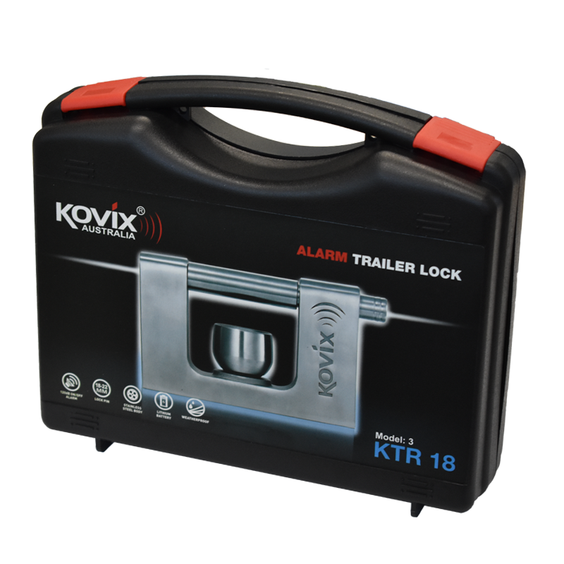 Kovix KTR-18 Alarmed Trailer Lock